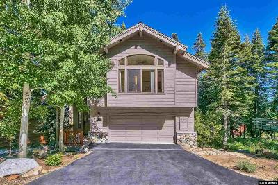 Incline Village Single Family Home Active/Pending-House: 947 Garen St