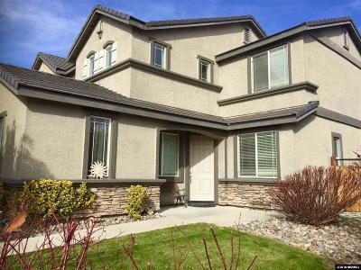 Sparks Single Family Home For Sale: 3814 Dorado Ct.