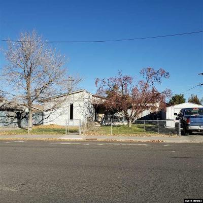 Battle Mountain NV Single Family Home For Sale: $206,000