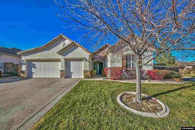 Reno Single Family Home Active/Pending-Loan: 2695 Rose Mist Court