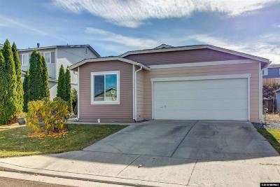 Reno Single Family Home Price Reduced: 7450 Tallgrass Dr