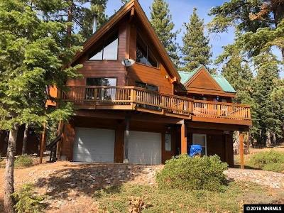 Incline Village Single Family Home Price Reduced: 999 Dorcey