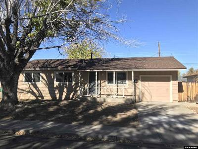 Sparks Single Family Home For Sale: 2140 Jessie Ave