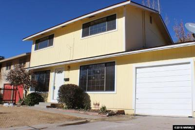 Sparks Single Family Home Price Reduced: 496 Quail