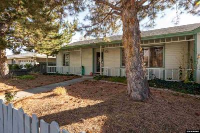 Carson City Single Family Home Active/Pending-Loan: 1009 E Telegraph