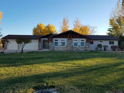 Fernley Single Family Home Active/Pending-Loan: 1845 Erica Ln