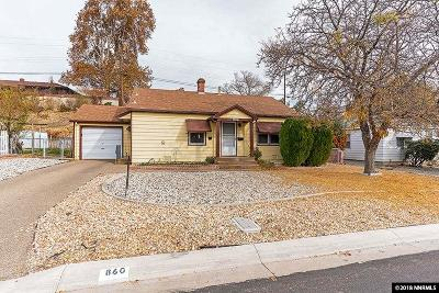 Reno NV Single Family Home Sold: $280,000