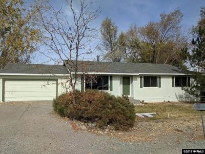 Washoe County Single Family Home For Sale: 10550 Aldebaran Drive