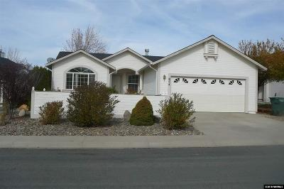 Carson City Single Family Home Active/Pending-Loan: 854 Valley Vista