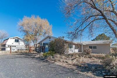 Washoe Valley Single Family Home Active/Pending-House: 3095 Holly Lane