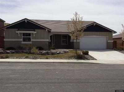 Sparks Single Family Home For Sale: 3191 Vecchio Dr.