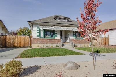 Sparks Single Family Home For Sale: 543 6th St