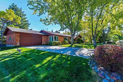 Reno Single Family Home Active/Pending-Loan: 2930 Outlook Drive