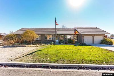 Sparks Single Family Home For Sale: 9020 Spanish Trail