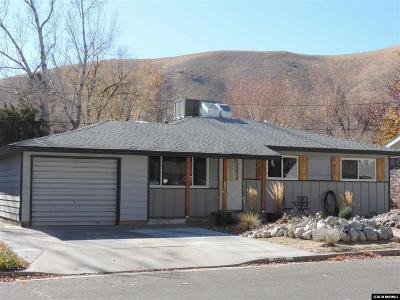 Carson City Single Family Home Active/Pending-Loan: 1205 W Fourth St