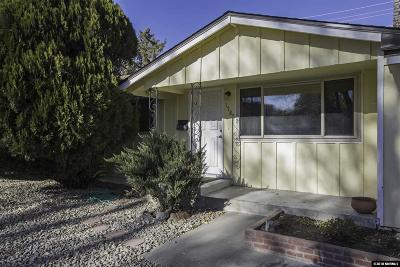 Reno Single Family Home For Sale: 1785 Hawthorne Rd.