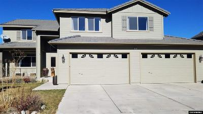 Reno, Sparks, Carson City, Gardnerville Single Family Home Back On Market: 4670 Edmonton