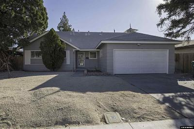 Sparks Single Family Home Active/Pending-Loan: 625 Emerson Way