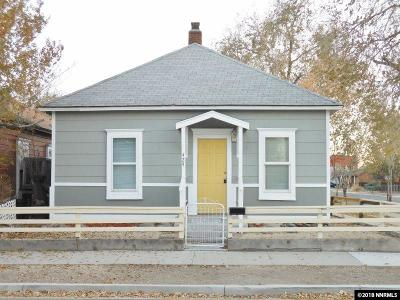 Sparks Single Family Home Active/Pending-Loan: 429 D Street