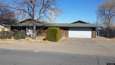 Gardnerville Single Family Home For Sale: 1472 Muir Drive