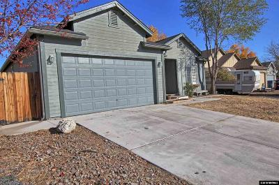 Fernley Single Family Home For Sale: 742 Canary Circle
