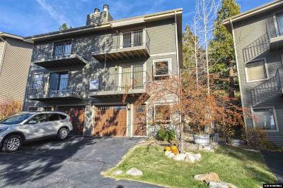 Glenbrook Condo/Townhouse For Sale: 1306 Cave Rock Drive #B