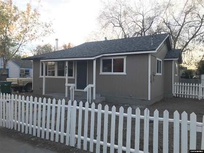 Sparks Single Family Home For Sale: 837 15th Street