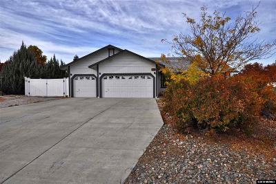 Sparks Single Family Home Active/Pending-Loan: 40 White Dove Court