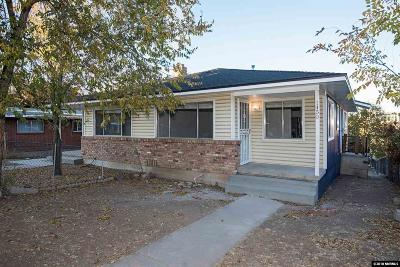 Reno Multi Family Home For Sale: 1452 Hillside Drive