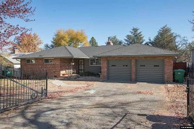 Reno Single Family Home For Sale: 2320 Watt Street