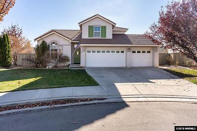 Reno Single Family Home For Sale: 9831 Eastmont Ct