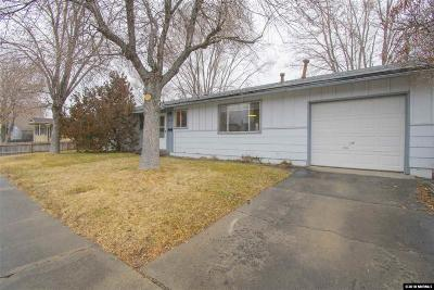 Carson City Single Family Home Active/Pending-Loan: 2309 Michael Drive