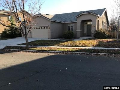 Sparks Single Family Home Active/Pending-Loan: 5925 Ingleston