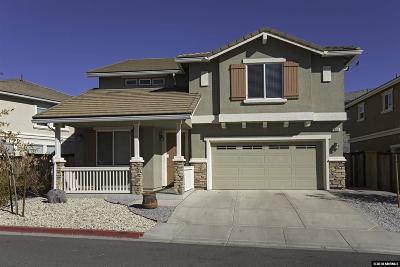Reno Single Family Home For Sale: 3720 Thistle Down Ct