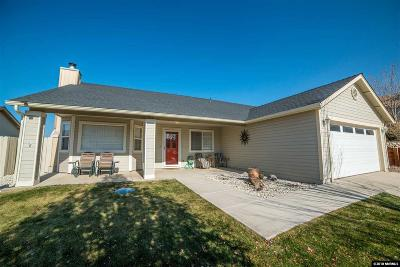 Gardnerville Single Family Home Active/Pending-Call: 34 Conner Way