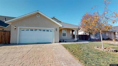Fernley Single Family Home For Sale: 729 Divot Drive