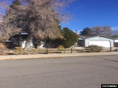 Carson City Single Family Home Active/Pending-Loan: 604 Jeanell