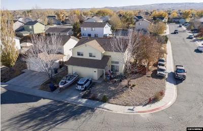 Fernley Single Family Home New: 122 Desert Springs