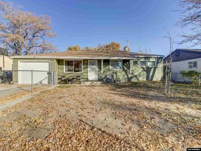 Sparks Single Family Home Active/Pending-Loan: 2500 11th Street