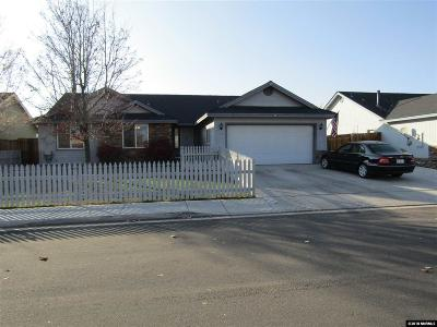 Yerington Single Family Home New: 203 Purple Sage Dr.