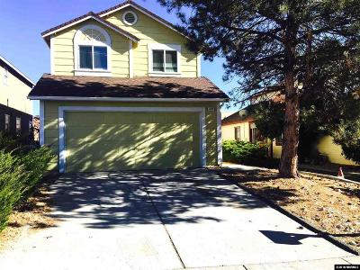 Reno Single Family Home New: 3066 Myles Dr