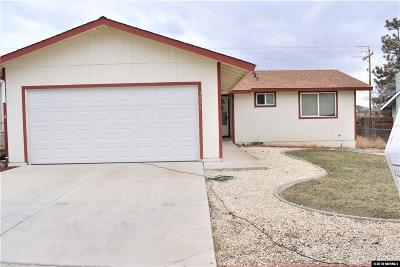 Carson City Single Family Home New: 3559 Opalite Ct