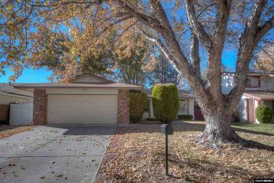 Reno Single Family Home Active/Pending-Loan: 3855 Casa Blanca Road