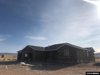 Washoe County Single Family Home New: 200 James Ranch Ct