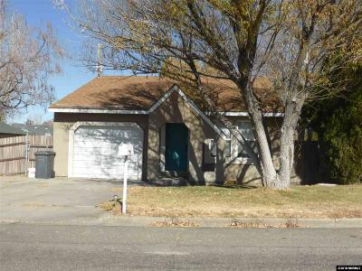 Winnemucca Single Family Home For Sale: 1615 Lahontan Avenue