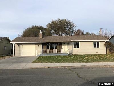 Fallon Single Family Home New: 145 N Bailey Street