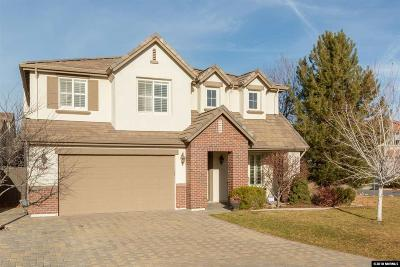 Reno Single Family Home New: 14005 Traveler Court