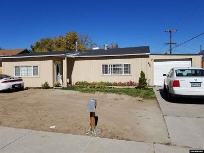 Carson City Single Family Home New: 450 Colorado Street