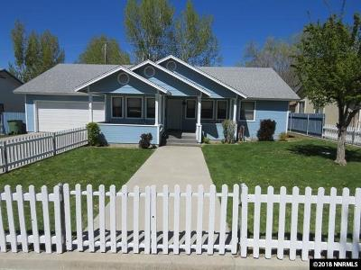 Winnemucca Single Family Home For Sale: 1639 Lahontan Ave