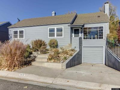 Washoe County Single Family Home New: 919 Hampshire
